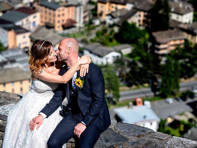 Il matrimonio di Alessandro e Michaela a Villa di Tirano, Sondrio 48