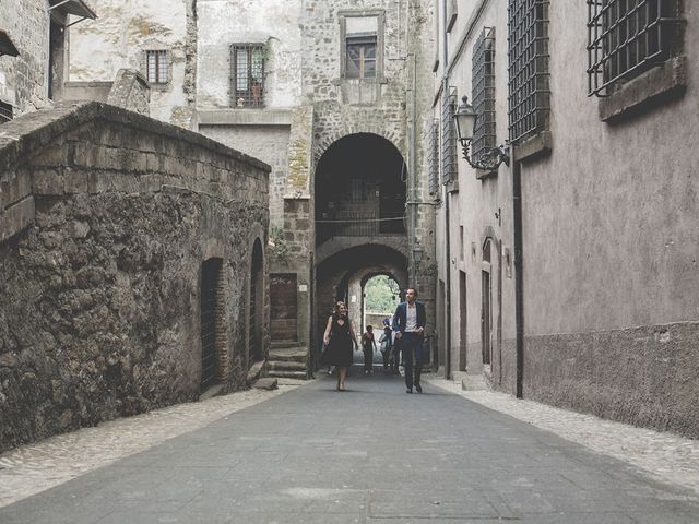 Il matrimonio di Pierre e Giulia a Bomarzo, Viterbo 21