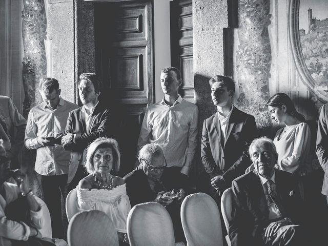 Il matrimonio di Pierre e Giulia a Bomarzo, Viterbo 28