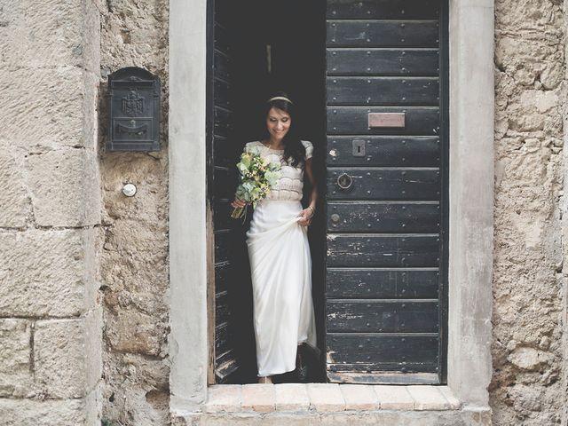 Il matrimonio di Pierre e Giulia a Bomarzo, Viterbo 29