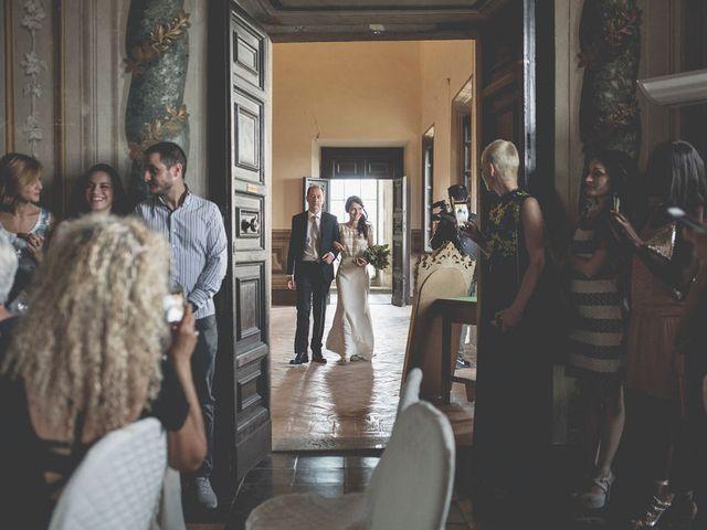 Il matrimonio di Pierre e Giulia a Bomarzo, Viterbo 34