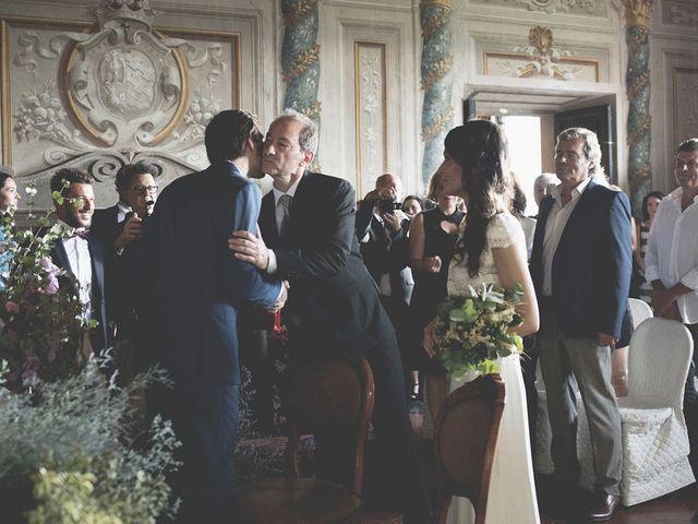 Il matrimonio di Pierre e Giulia a Bomarzo, Viterbo 35