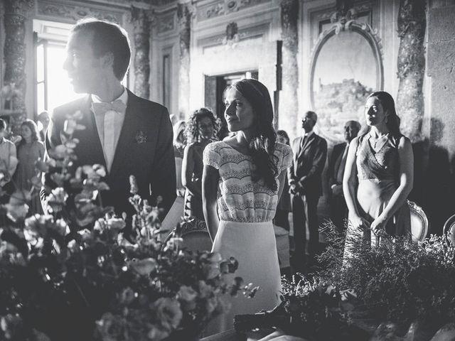 Il matrimonio di Pierre e Giulia a Bomarzo, Viterbo 36
