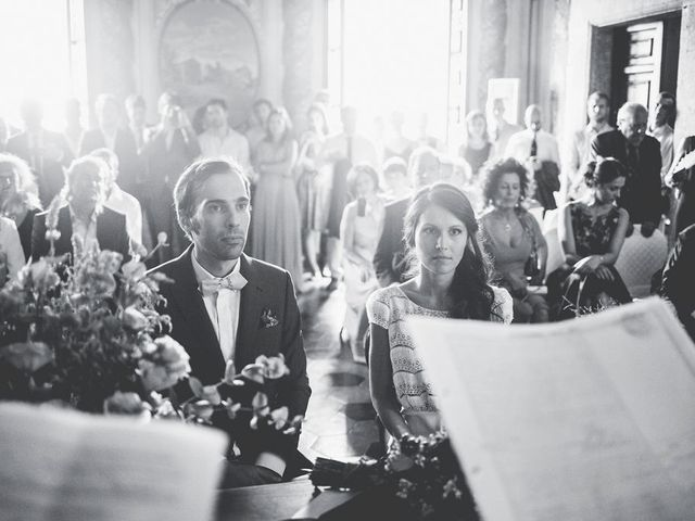 Il matrimonio di Pierre e Giulia a Bomarzo, Viterbo 43