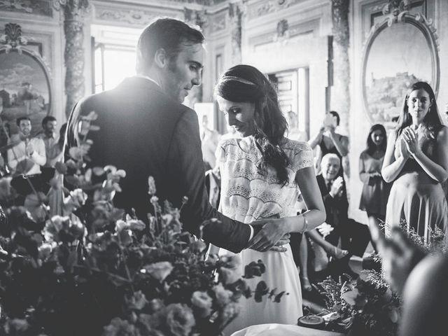 Il matrimonio di Pierre e Giulia a Bomarzo, Viterbo 45