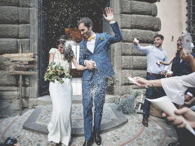 Il matrimonio di Pierre e Giulia a Bomarzo, Viterbo 49