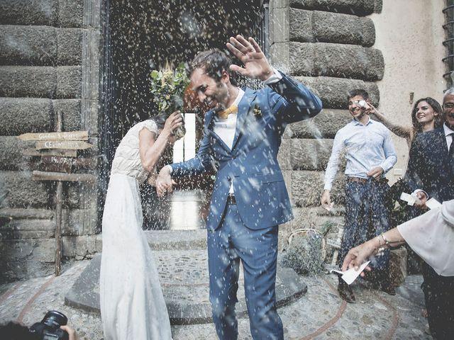 Il matrimonio di Pierre e Giulia a Bomarzo, Viterbo 50