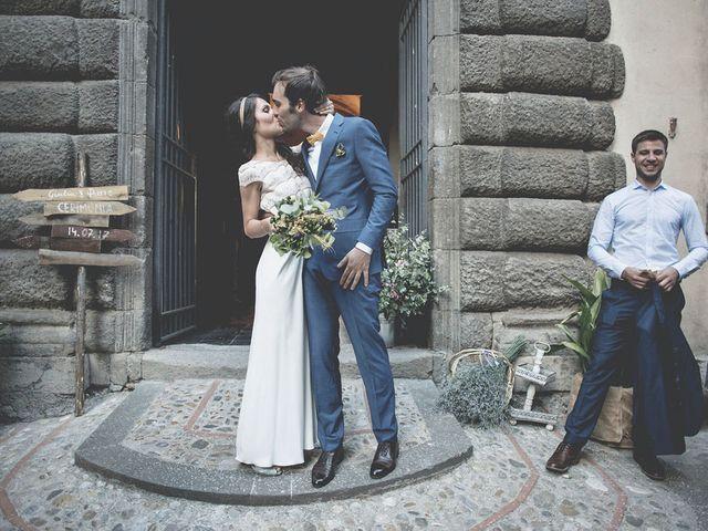 Il matrimonio di Pierre e Giulia a Bomarzo, Viterbo 51