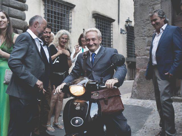 Il matrimonio di Pierre e Giulia a Bomarzo, Viterbo 52