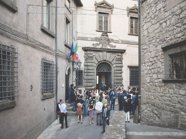 Il matrimonio di Pierre e Giulia a Bomarzo, Viterbo 53