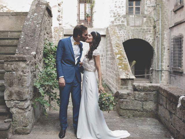 Il matrimonio di Pierre e Giulia a Bomarzo, Viterbo 55