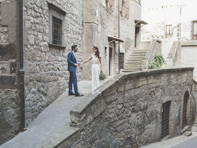 Il matrimonio di Pierre e Giulia a Bomarzo, Viterbo 56
