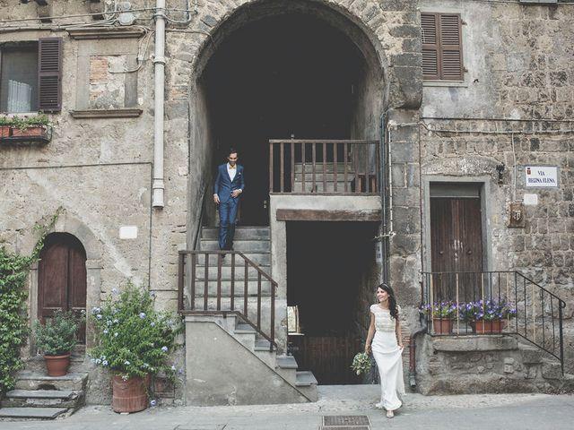 Il matrimonio di Pierre e Giulia a Bomarzo, Viterbo 59