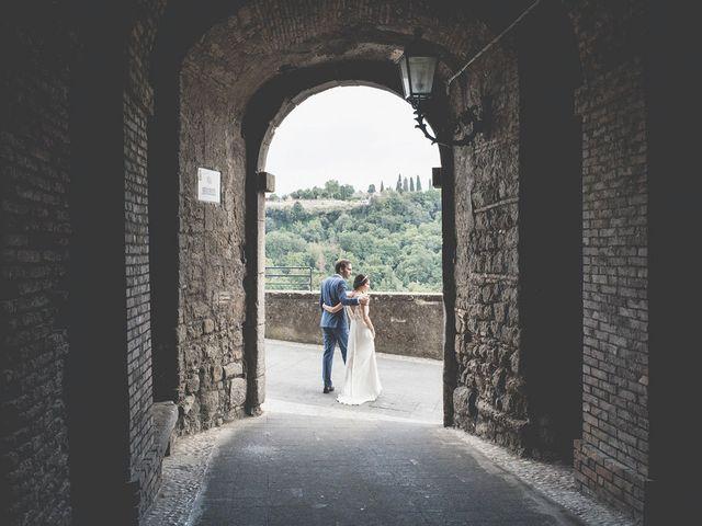 Il matrimonio di Pierre e Giulia a Bomarzo, Viterbo 62