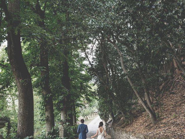 Il matrimonio di Pierre e Giulia a Bomarzo, Viterbo 63