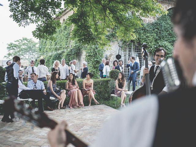 Il matrimonio di Pierre e Giulia a Bomarzo, Viterbo 64