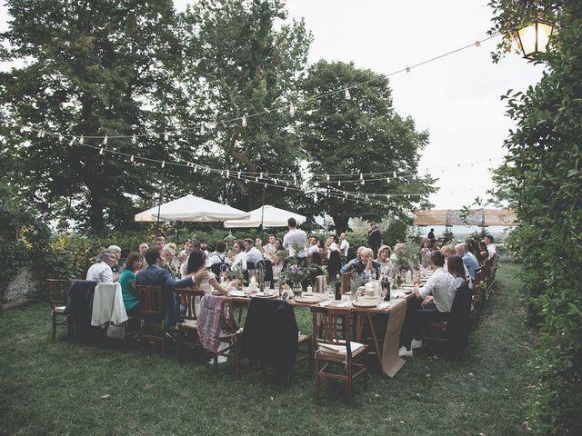 Il matrimonio di Pierre e Giulia a Bomarzo, Viterbo 78