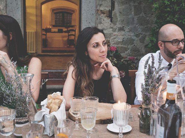 Il matrimonio di Pierre e Giulia a Bomarzo, Viterbo 80