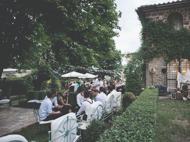 Il matrimonio di Pierre e Giulia a Bomarzo, Viterbo 83