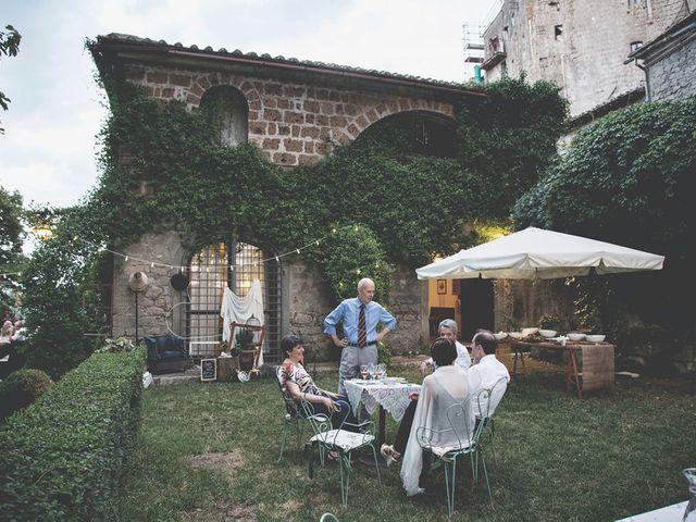 Il matrimonio di Pierre e Giulia a Bomarzo, Viterbo 84