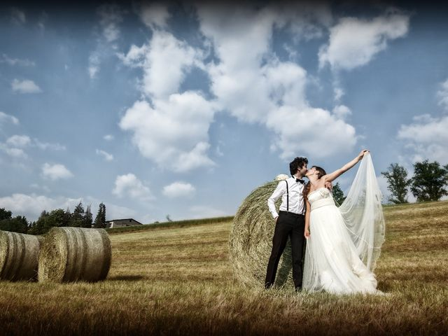 le nozze di Valentina e Sergio