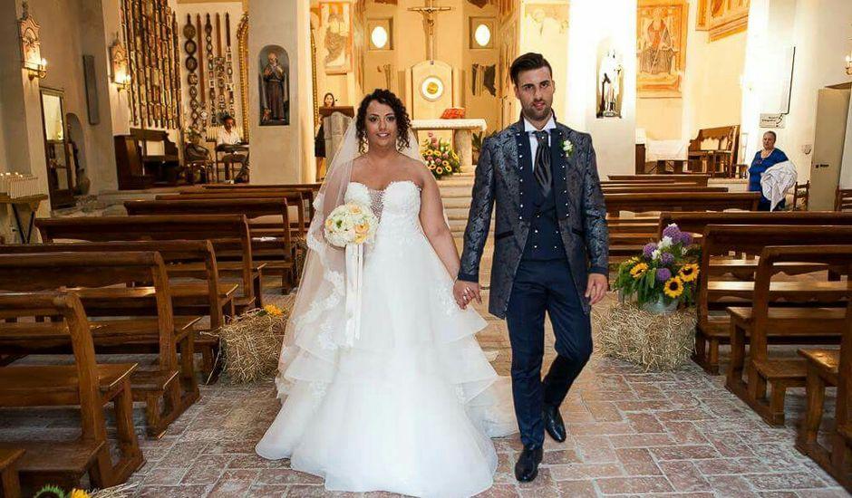 Il matrimonio di Nicola e Chiara a Montescudo, Rimini