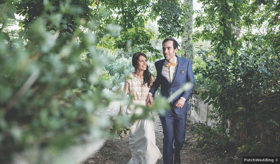 Il matrimonio di Pierre e Giulia a Bomarzo, Viterbo