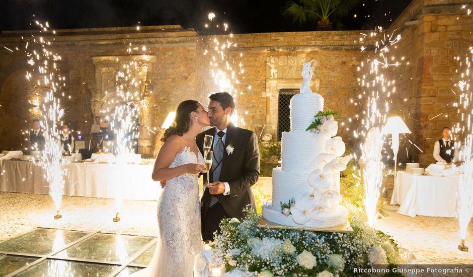 Il matrimonio di Angelo e Andra a Trabia, Palermo