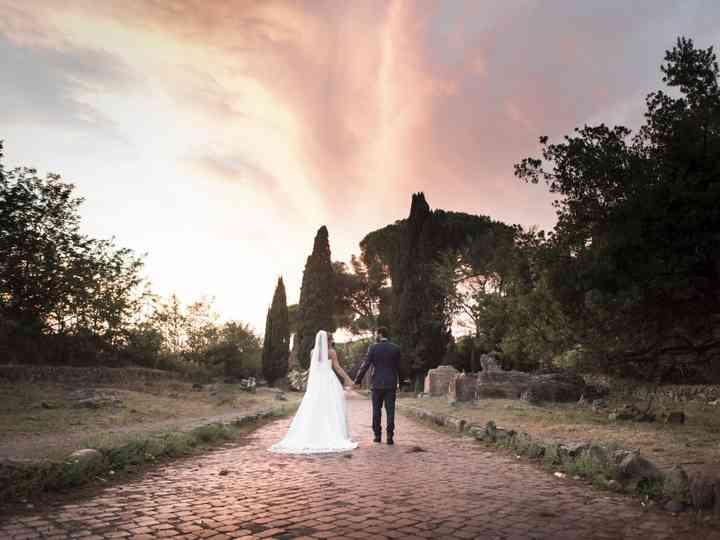 le nozze di Giuila e Fabrizio