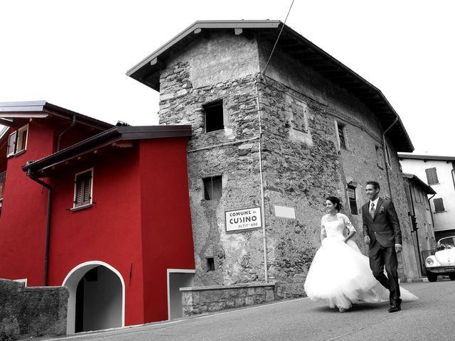 Il matrimonio di Antonio e Enrica a San Bartolomeo Val Cavargna, Como 49
