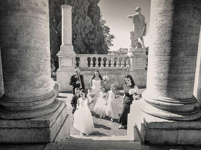 Il matrimonio di John e Nicola a Roma, Roma 7
