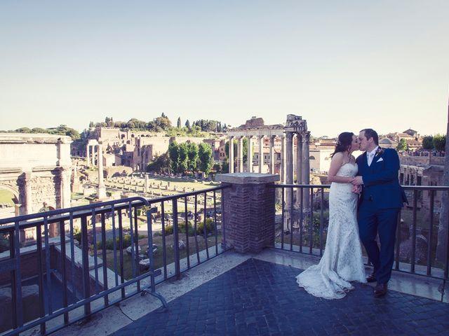 Il matrimonio di John e Nicola a Roma, Roma 16