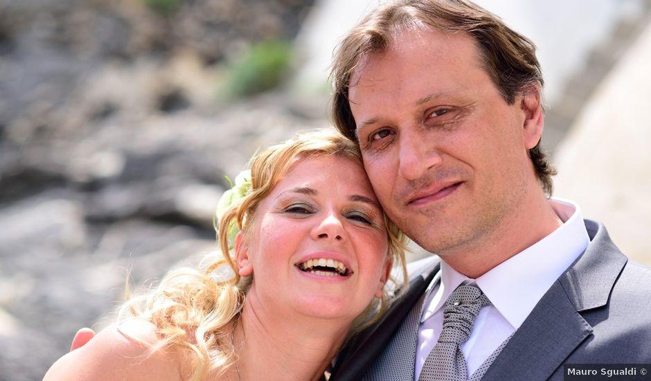 Il matrimonio di Mauro e Angela a Camogli, Genova