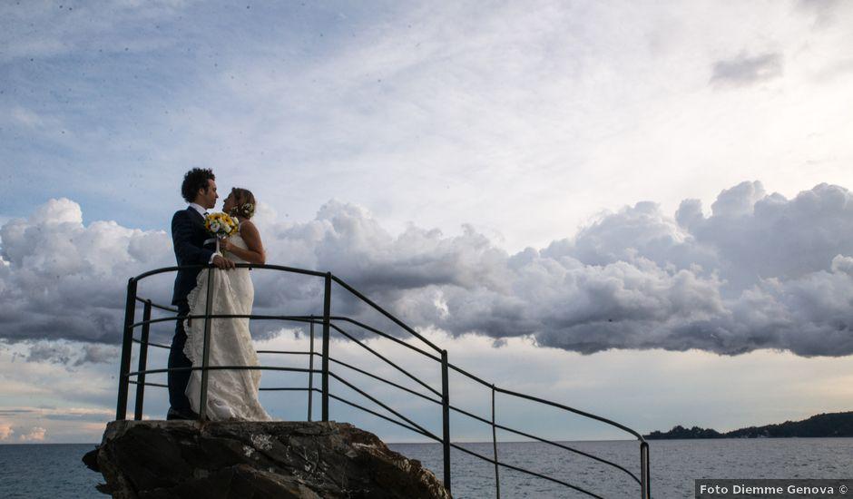 Il matrimonio di Simone e Valentina a Chiavari, Genova