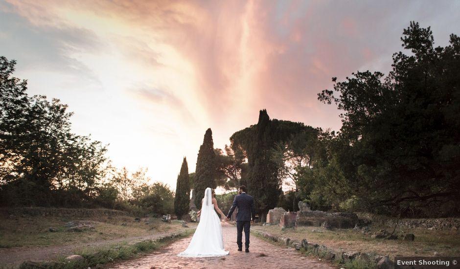 Il matrimonio di Fabrizio e Giuila a Frascati, Roma
