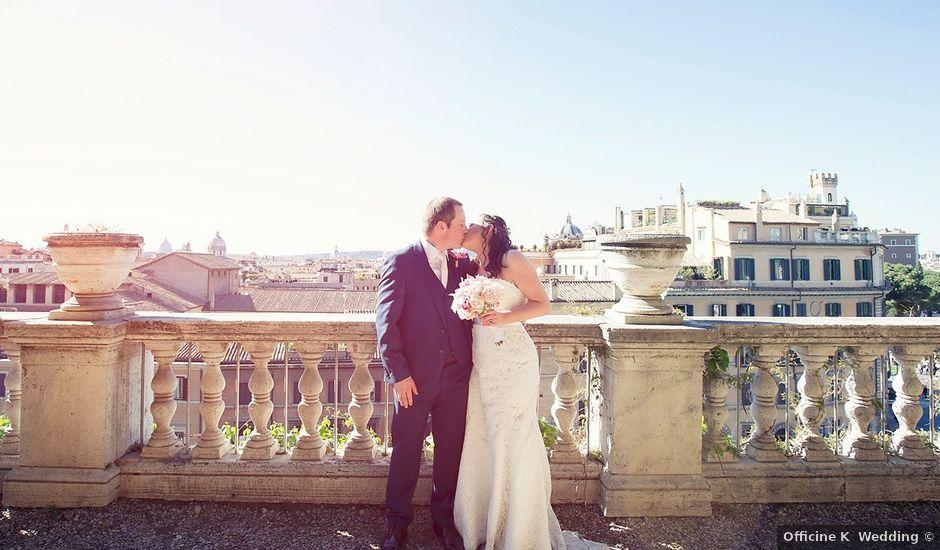 Il matrimonio di John e Nicola a Roma, Roma