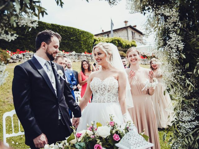 Il matrimonio di Antonio e Anastasiya a Costermano, Verona 37