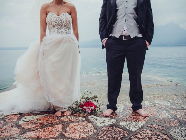 Il matrimonio di Antonio e Anastasiya a Costermano, Verona 2