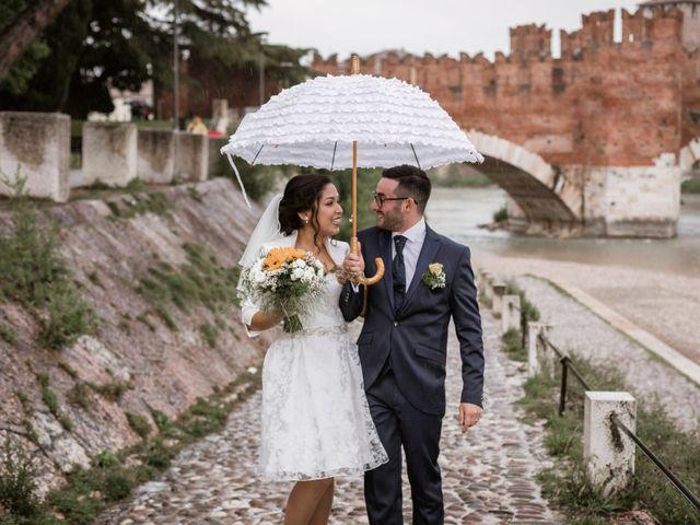 Il matrimonio di Gianmarco e Carolina a Verona, Verona 25