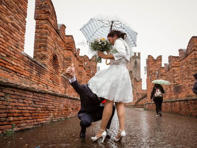Il matrimonio di Gianmarco e Carolina a Verona, Verona 27