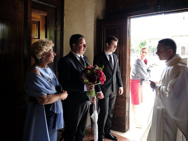 Il matrimonio di Fabrizio e Laura a Erbusco, Brescia 24