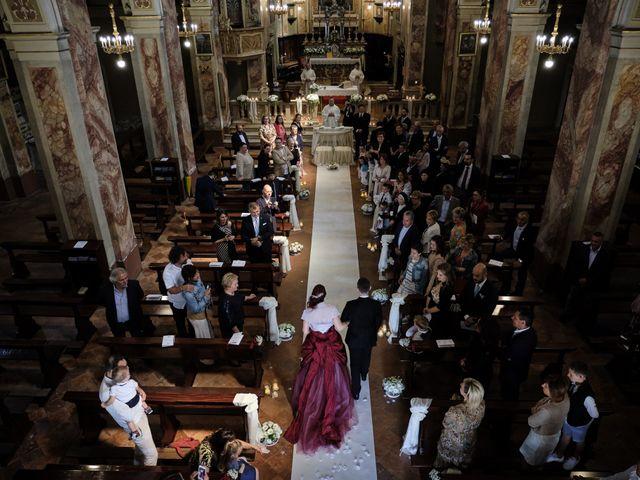 Il matrimonio di Fabrizio e Laura a Erbusco, Brescia 31