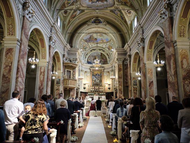 Il matrimonio di Fabrizio e Laura a Erbusco, Brescia 33
