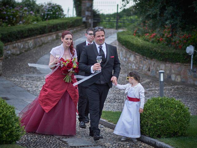 Il matrimonio di Fabrizio e Laura a Erbusco, Brescia 85