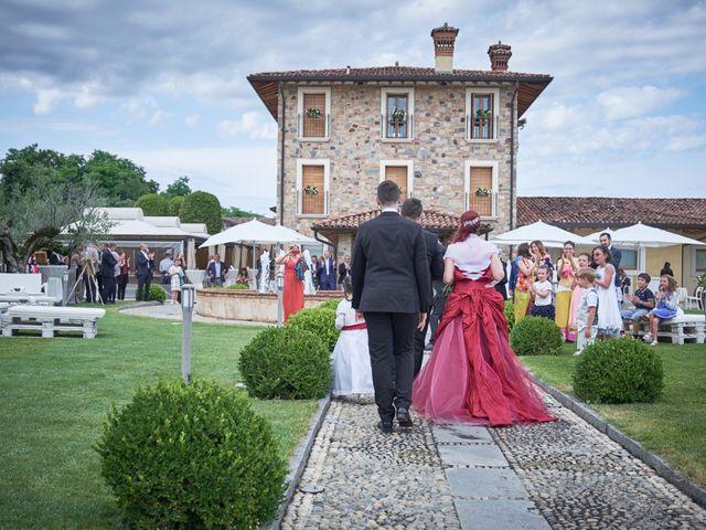 Il matrimonio di Fabrizio e Laura a Erbusco, Brescia 87