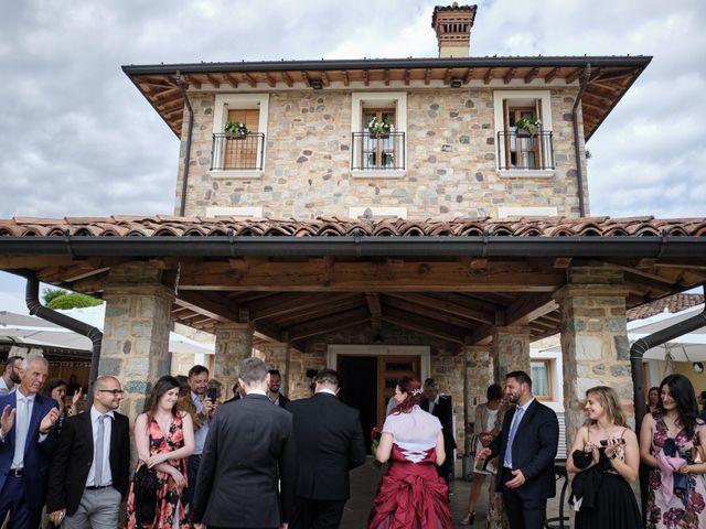 Il matrimonio di Fabrizio e Laura a Erbusco, Brescia 89