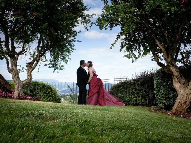 Il matrimonio di Fabrizio e Laura a Erbusco, Brescia 111