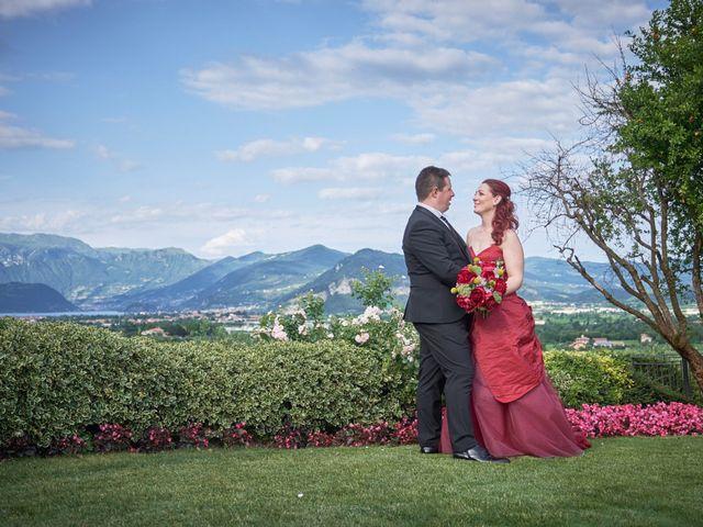 Il matrimonio di Fabrizio e Laura a Erbusco, Brescia 114