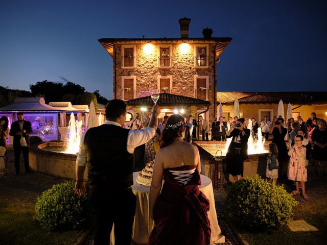 Il matrimonio di Fabrizio e Laura a Erbusco, Brescia 140