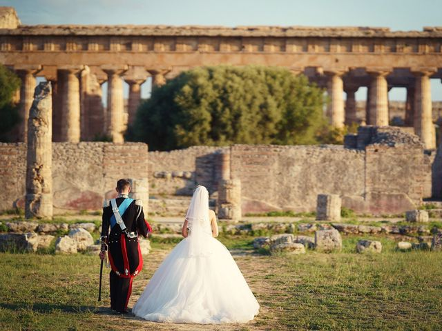 Il matrimonio di Saverio e Pamela a Capaccio Paestum, Salerno 49